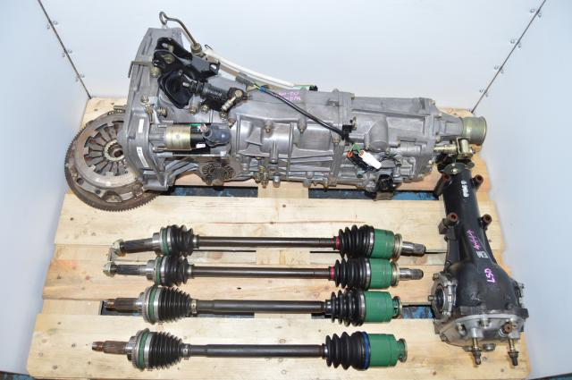 subaru impreza manual transmission swap